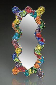 Jill Kernodle - beautiful mosaic mirror