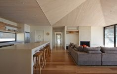Duckbuild Architecture - Residential Interior - New House - Red Hill, Photography by Peter Bennetts