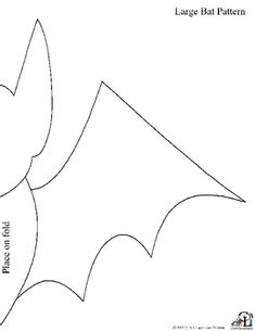 Free Large Bat Pattern See our Halloween Planning guide for directions Check out all our great fall products! Halloween Pictures, Halloween Bats, Costume Halloween, Free Printable Sewing Patterns, Templates Printable Free, Toddler Preschool, Toddler Crafts, Toddler Bat Costume, Bat Template