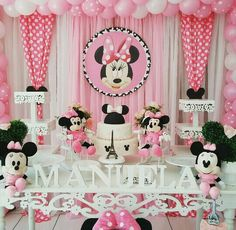 Minnie Mouse Birthday Backdrop (Baby & Kids) in West . Theme Mickey, Minnie Mouse Theme Party, Minnie Mouse 1st Birthday, Minnie Mouse Baby Shower, Minnie Mouse Pink, Mickey Party, Party Decoration, Birthday Decorations, Birthday Backdrop