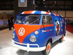 The Who VW Camper