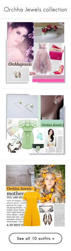 """Orchha Jewels collection"" by followme734 ❤ liked on Polyvore featuring ASOS, Christian Louboutin, Honour, Marchesa, cassiopeiafall, orchhajewels, Dolce&Gabbana, Warehouse, modern and Ultimate"