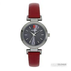 Adora TS-Serie Damenuhr Dark-Red 4803