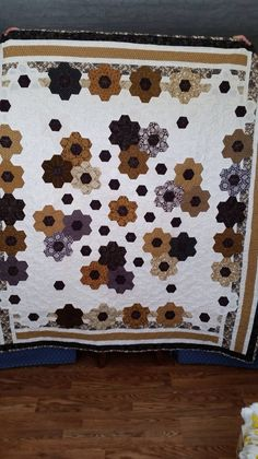 Facebook. Front of quilt.