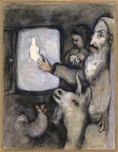 Noah - Marc Chagall