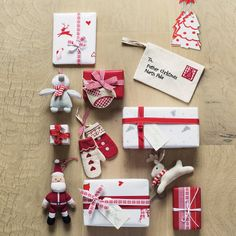 Love these Christmas items and the gift wrapping ideas. The ornaments would be pretty on a tree or gift as an enhancement.