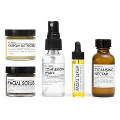 FACIAL CARE KIT is a perfect trial sampler intro to the FIG+YARROW Facial Protocol™ or for convenient air-friendly travel.   {packaged in gi...