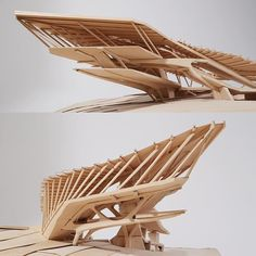 """nexttoparchitects: """"by The fourth semester, 202 Design, investigates wood as a structural and assembly material for an academy building program. The site, Wave Hill, NY is a botanical garden that offers an. Architecture Paramétrique, Cantilever Architecture, Futuristic Architecture, Maquette Architecture, Architecture Portfolio, Arch Model, 3d Home, Parametric Design, Design Model"""
