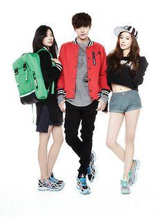 SM Rookies Irene, Tae Yong and Seul Gi - Oh Boy! Magazine Vol.44