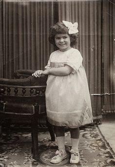 Frida Kahlo at age 4 in 1911
