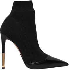 JOHBEAUTY I Blogging + Social Media & Beauty Advice 115mm Aurore Knit & Leather Ankle Boots  Hunting here http://johbeauty.com/collection/
