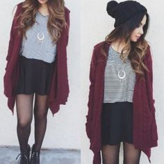 Find out our simple, confident & effortlessly stylish Casual Fall Outfit ideas. Get encouraged with these weekend-readycasual looks by pinning your favorite looks. casual fall outfits for women Cute Fashion, Look Fashion, Teen Fashion, Winter Fashion, Fashion Outfits, Fashion Trends, Teenager Fashion, Fashion Clothes, Fashion Bloggers