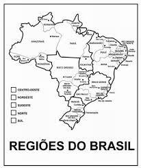 Resultado de imagem para regiões brasileiras atividades para imprimir