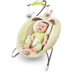 Fisher-Price - My Little Snugabunny Bouncer: this is great for babies with reflux and middle of the night feedings!