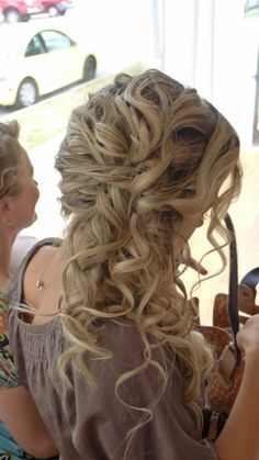 Bridal Hairstyle by Courtney