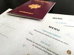 menu passeport mariage