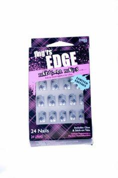 Fing'rs EDGE Hardcore Nails 24ct Limited Edition HALLOWEEN SILVER SPIDER WEBS 31663, http://www.amazon.com/dp/B009HUDGXM/ref=cm_sw_r_pi_awdm_lYR8sb0YJ4Y9W