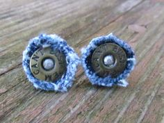 Recycled Lee Can't Bust 'Em Rivets - Post Earrings.