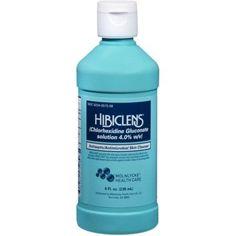 Hibiclens... acne treatment...