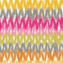 Gregg in White #ikat #prints #fabrics #textiles #interior_design [www.itma-showtime.com]