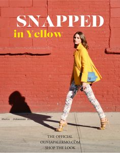 Florals + yellow + fun silhouettes - Ready for Spring!