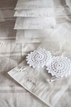 PERLE DI COTONE: BRIDESMAIDS