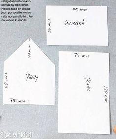 Piparkakkutalo – kaikki taikinasta kaavoihin ja kuorrutteisiin | Kotivinkki Christmas Time, Xmas, Projects To Try, Food And Drink, Cards Against Humanity, Party, Recipes, Yule, Food Recipes