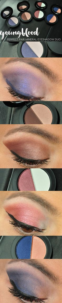 Youngblood Perfect Pair Mineral Eyeshadow Duos Review