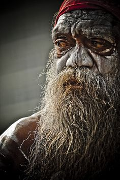 Aboriginal man, Sydney. No matter the ethnicity, all of us are human; all of us are actually members of the same race, biologically. What an amazing display of faces the world of mankind presents!