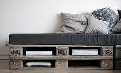 Resultado de imagem para pallet sofa