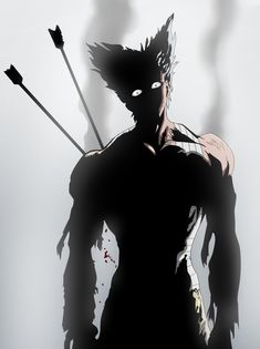 One punch man Garou Hero Hunter by Ivraas One Punch Man 2, Saitama One Punch Man, One Punch Man Manga, One Punch Man Heroes, Opm Manga, Manga Anime, Cool Anime Wallpapers, Animes Wallpapers, Calin Gif