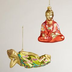 8 best Buddha ornaments images on Pinterest | Christmas trees, Xmas ...