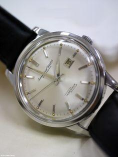 IWC: vintage Ingenieur, such a beautiful watch.