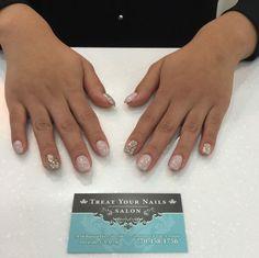 Pretty Nail Design at Treat Your Nails. #Atlanta #naildesign #nailsalon