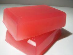 Vanilla Rose Glycerin Soap, Wonderful Spicy Rose Fragrance.