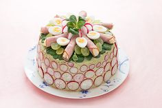 Swedish sandwich cake from the Frankie magazine blog