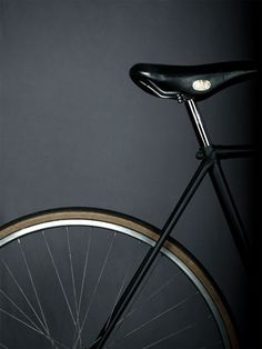 A must have for black lovers. A #Black bicycle.