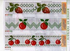 Thrilling Designing Your Own Cross Stitch Embroidery Patterns Ideas. Exhilarating Designing Your Own Cross Stitch Embroidery Patterns Ideas. Cross Stitch Fruit, Cross Stitch Kitchen, Cross Stitch Borders, Cross Stitch Designs, Cross Stitching, Cross Stitch Embroidery, Embroidery Patterns, Cross Stitch Patterns, Embroidery Techniques