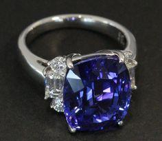 Tanzanite Ring, I HAD one like this:(..