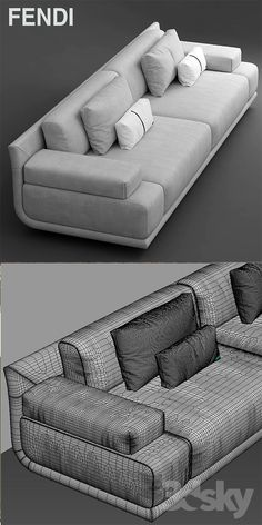 models: Sofa - Sofa fendi casa artu sofa (With images) Sofa Set Designs, Wooden Sofa Designs, Sofa Come Bed, Futon Sofa Bed, Sectional Sofa, Recliner Chairs, Sofa Sleeper, Bedroom Sofa, Tufted Sofa