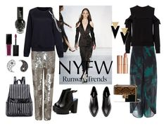 """""""Hot NYFW Runway Trend"""" by izzyisabela ❤ liked on Polyvore featuring Rodebjer, A.L.C., Dolce&Gabbana, Yves Saint Laurent, Charlotte Tilbury, Chloé, Sydney Evan, Smashbox and NYFW"""