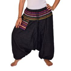 S-XXL Harem Pants Aladdin PantsYoga Pants Drop by FANZYDESIGN
