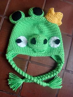 f8ae897cb67 Angry Birds Crocheted Hats are very popular! Make one for your Angry Birds  fan!