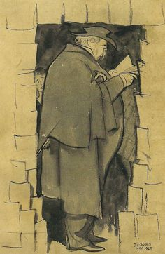 Chesterton by J.H. Dowd, May 1929