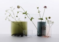 Surreal line of decorative vases fuses natural and man-made material | Inhabitat - Green Design, Innovation, Architecture, Green Building