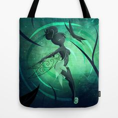 Little Fairy Tote Bag by LouJah | Society6