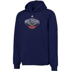Adidas Youth NBA New Orleans Pelicans Slim Fit Fleece Pant