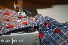 Stretchy Bandana Headband - Wee Folk Art Bandana Styles, Scrunchies, Folk Art, Headbands, Gift Wrapping, Gift Wrapping Paper, Head Bands, Popular Art, Wrapping Gifts