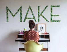 fabric typography