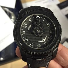 All carbon fiber  #ulyssenardin #tourbillon #concept by watchyoulookinat